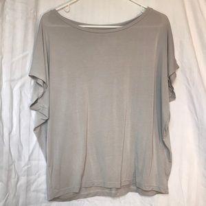 Uniqlo Light Gray Shirt